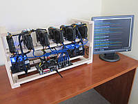 Майнинг ферма Msi Rx570 Aorus 4GB на 6 карт