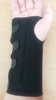 Бандаж на лучезапястный сустав с ребром жесткости медицинский эластичный воздухопроницаемый
