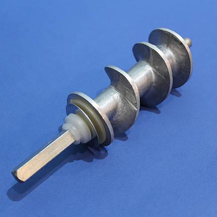 Шнек для мясорубки Эльво 153 мм (с уплотнительным кольцом), фото 2