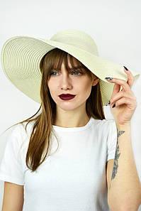 Широкополая шляпа Фрейзер кремовая