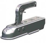 ✅Замковое сцепное устройство для прицепа SPP ZSK-750H на квадратное дышло 50 мм