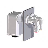 HL4000.2 Комплект для подключения двух стиральных, сушильной и посудомоечной машины к сифону HL4000.0