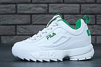 Женские кроссовки Fila Disruptor II  Реплика, фото 1