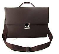Портфель 6614-12D темно-коричневый