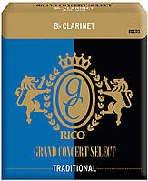 Трости для кларнета RICO Grand Concert Select - Bb Clarinet #3.5