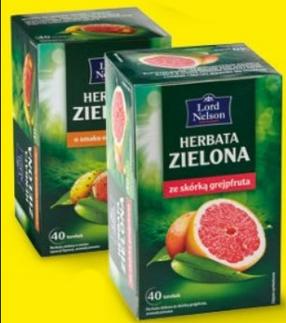 Чай Lord Nelson пакетированный зеленый 40 пакетиков, фото 2