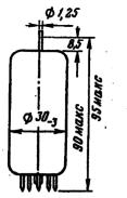 Лампа 6П36С   тетрод