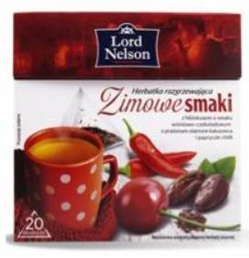 Чай Lord Nelson Zimowe Smaki 20 пакетов, фото 2