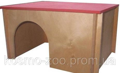 Деревянный домик для морской свинки Лори 012