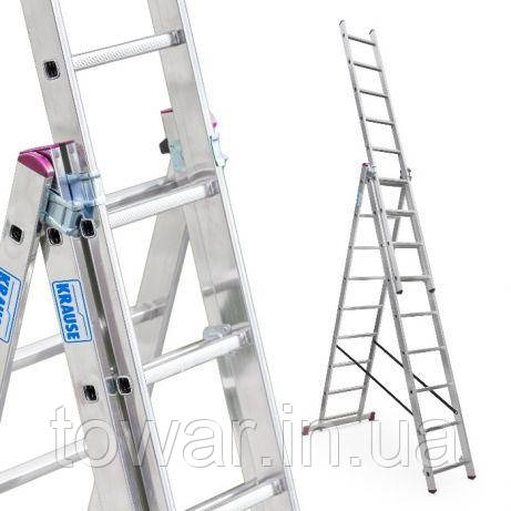 Лестница стремянка (3 х 9) 6,42 м KRAUSE CORDA 5.4м 5.65м 7.3м 7,55м Польша