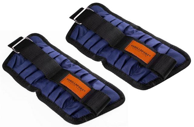 Утяжелители для рук и ног регулируемые 6 кг пара (2 шт по 3 кг) металл