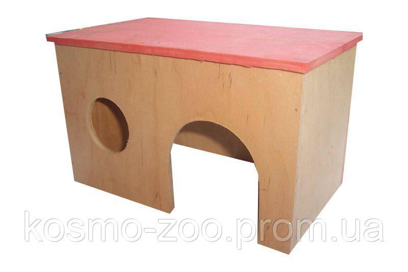 Деревянный домик для кроликов Лори 017