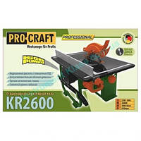 Стационарная циркулярная пила Procraft KR2600/200