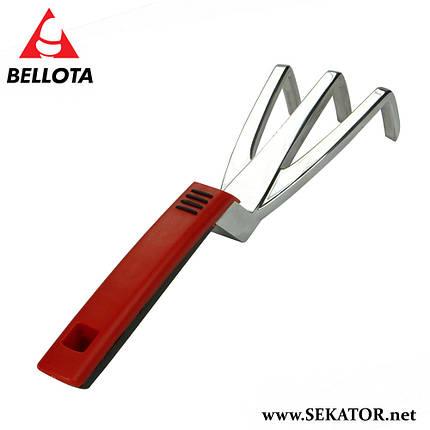 Культиватор - граблі 3х зубий Bellota 2998 (Іспанія), фото 2