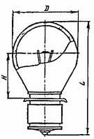 Лампа оптическая ОП 4,5-33     2ФШ20-1