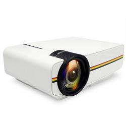 Проектор мультимедийный с динамиком Led Projector LEJIADA YG400
