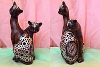 Статуэтка фэн - шуй кошки, высота 26 см.