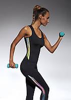 Спортивный женский топ BasBlack Cosmic-top 50 (original), майка для бега, фитнеса, спортзала