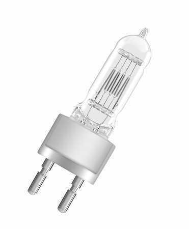 Лампа кварцевая галогенная малогабаритная 230v - 2000w OMNILUX G22