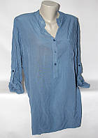 """Блузка женская полубатальная удлиненная размер 50-54 (4 цвета) """"ITALIA"""" купить оптом в Одессе на 7 км"""