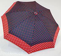 """Карманный механический женский зонт в горошек от фирмы """"RST"""""""