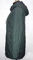 """""""button""""-демісезонна куртка 86-152 синій, фото 3"""