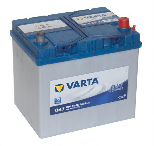 Аккумулятор VARTA BD D47 6СТ-60 (0)