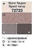 "Тени для век ""Чудесный квартет"", Avon True, цвет Stone Taupes - Яркий топаз, Эйвон, 72723"