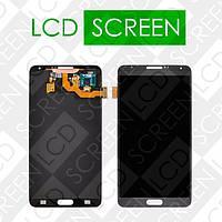 Дисплей для Samsung Galaxy Note 3 N9000, N9005, N9006 с сенсорным экраном, черный, модуль, дисплей + тачскрин