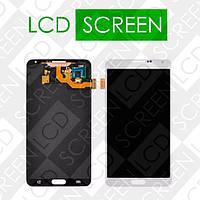 Дисплей для Samsung Galaxy Note 3 N9000, N9005, N9006 с сенсорным экраном, белый, модуль, дисплей + тачскрин