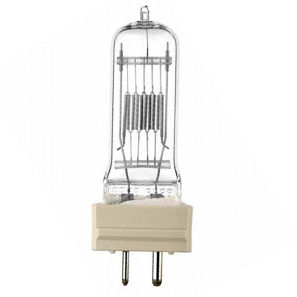 Лампа кварцевая галогенная малогабаритная КГМ 220-2000 ЛИСМА GY16