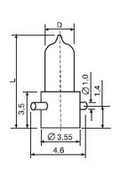 Лампа СМН 6,3-20 спец.