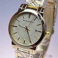 Женские часы BURBERRY Gold B32 с календарем (реплика)