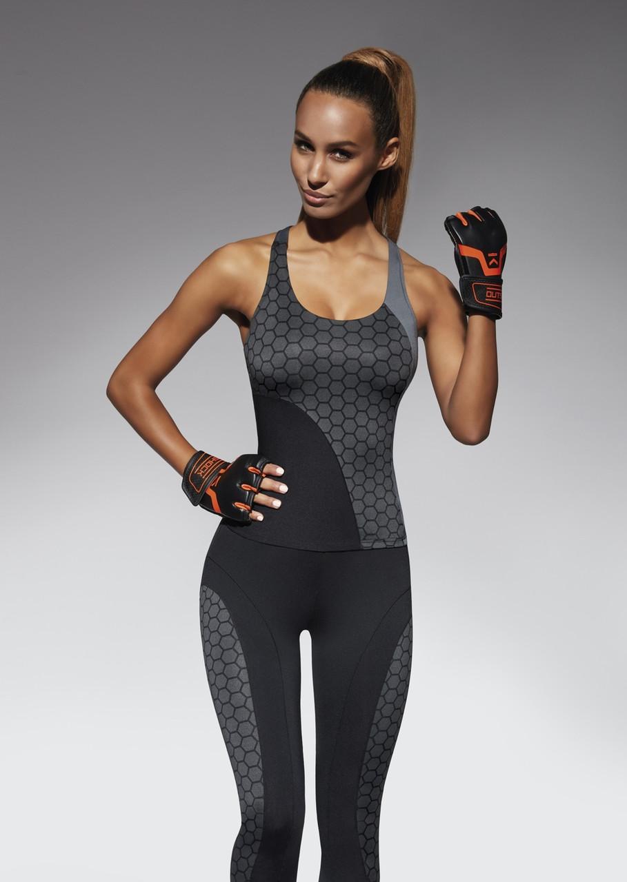 Спортивный женский топ BasBlack Escape-top 50 (original), майка для бега, фитнеса, спортзала SportLavka