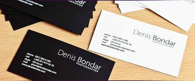 Печать черных визиток на тачкавере