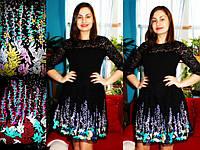 Платье весеннее с вышивкой, фото 1