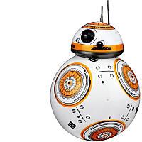 Роботизированный шар BB ROBOT GALACTIC WARS Робот дроид BB Ball на р/у 2.4G, Бело-Оранжевый (SUN0228)