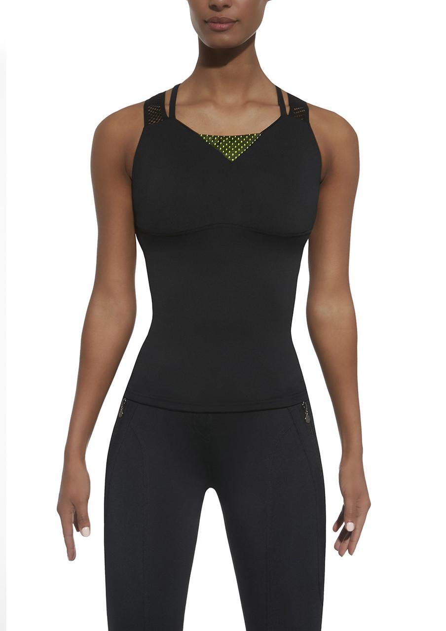Спортивный женский топ BasBlack Inspire-top 50 (original), майка для бега, фитнеса, спортзала SportLavka
