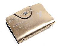 Визитница Serbah 802 gold gold