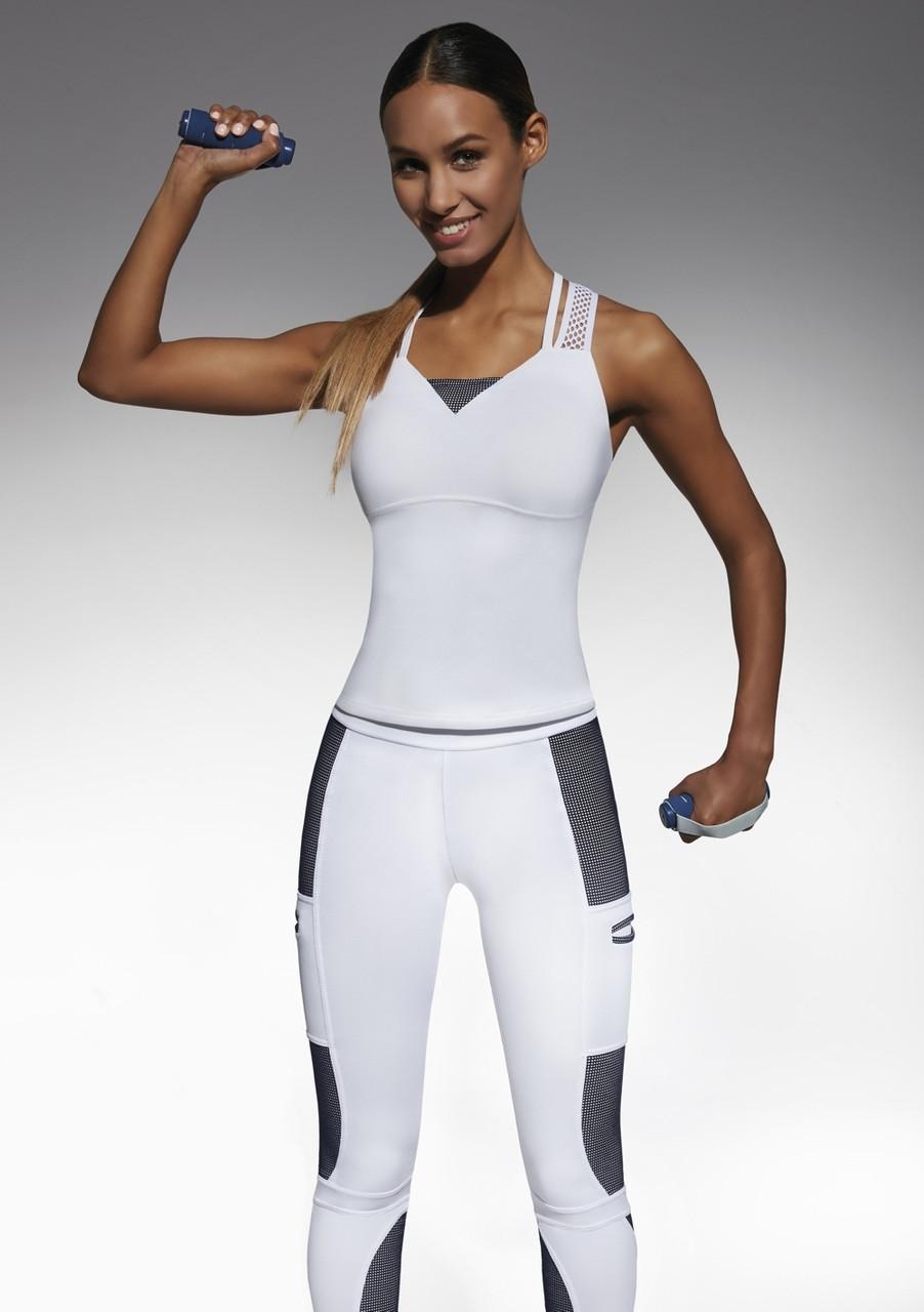 Спортивный женский топ BasBlack Passion-top 50 (original), майка для бега, фитнеса, спортзала SportLavka