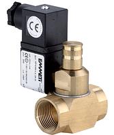 """Электромагнитный клапан для газа Emmeti 1"""" 12V нормально открытый, ручной взвод"""