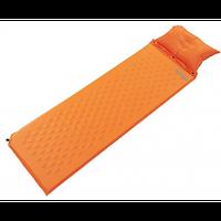Коврик (матрас) самонадувной с подушкой Tramp TRI-017