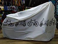 Чехол на велосипед X17 белый