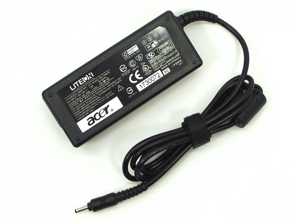 Блок питания для ноутбука Acer 19V 3.42A 65W (3.0*1.1) Китай
