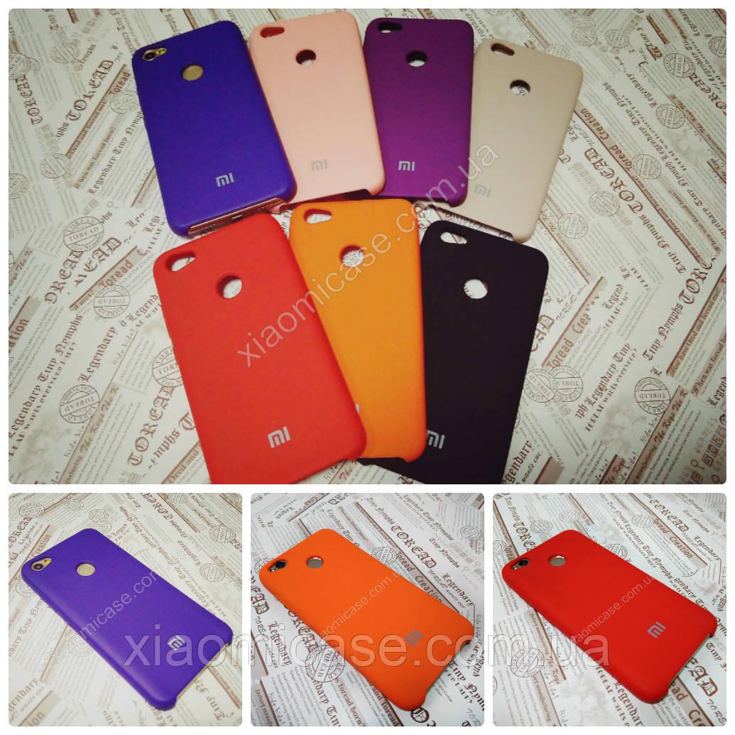 Резиновый брендовый Soft-touch чехол  для Xiaomi (Ксиоми)