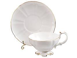 """Фарфоровый чайный набор на 6 персон """"Королевский"""" 264-649"""