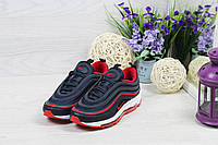 Кроссовки Nike Air Max 97 (темно синие с красным) кроссовки найк nike 4878