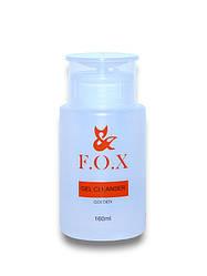 Средство для удаления дисперсионного слоя FOX Cleanser, 160 мл