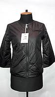 """""""button""""-демисезонная куртка 58-529 черный"""