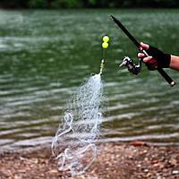 Минисеть с кормушкой для ловли рыбы пружина сеть 3.5*3.5 см